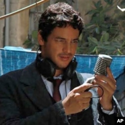 """Award-winning actor Khaled Abol Naga coproduced and stars in """"Microphone,"""" a film which explores the underground art and music scene in Alexandria, Egypt, just before the 2011 revolution."""