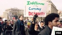 Hiriira Haqaaf falmatu Washington DC-tti
