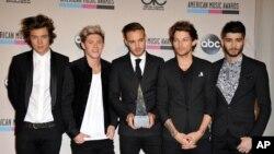 Британский бой-бэнд One Direction. Архивное фото.