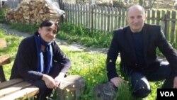Члены партии «Альянс патриотов» Ирма Инашвили и Эмраз Квициани