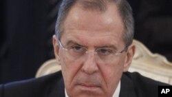 俄罗斯外长拉夫罗夫2月6日在莫斯科