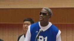 Rodman Sings Happy Birthday to N. Korea's Kim Jong Un