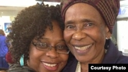 The late Susan Muroyiwa (right) with her daughter Chiwoneso Mpofu. (Photo: Chiwonese Mpofu's Facebook)