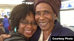 The late Susan Muroyiwa with her daughter Chiwoneso Mpofu.