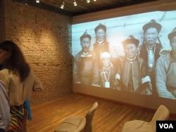 莫斯科的古拉格博物馆去年春季举办苏共迫害佛教展览时播放的视频。