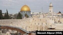 دیوار ندبه در اورشلیم