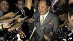 前朝鲜副外相李勇浩曾在核裁军谈判中担任朝鲜方面的首席代表(资料照)