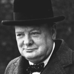 Winston Churchill in 1940