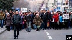 د مظاهرو په پیل کې، مذهبیانو په کیف او د اوکراین په ځینو نورو برخو کې خپل رول ولوبوه