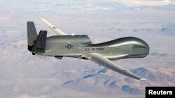미 공군이 운용 중인 RQ-4 '글로벌호크' 고고도 무인정찰기. (자료사진)