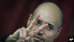 卡扎菲的兒子賽義夫‧伊斯蘭‧卡扎菲