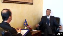 """Thaçi: """"Duhet një përmbyllje historike e së kaluarës me Serbinë"""""""