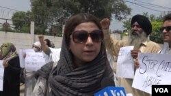 پشاور میں پانچ سالہ بچی کی گمشدگی اور ہلاکت کے خلاف سول سوسائٹی کا مظاہرہ