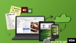 Sea texto, imagen, sonido o incluso una página web, Evernote permite archivarlo para recordarlo más tarde.