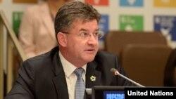 유엔 총회 의장을 맡고 있는 미로슬라프 라이착 슬로바키아 외무장관.