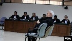 Anggoro Widjojo divonis 5 tahun penjara oleh Majelis Hakim pengadilan Tipikor di Jakarta, Rabu (2/7).