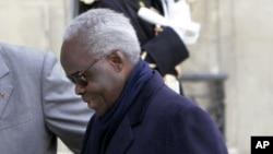 L'ancien président du Bénin, Mathieu Kérékou (AP Photo/Michel Euler)