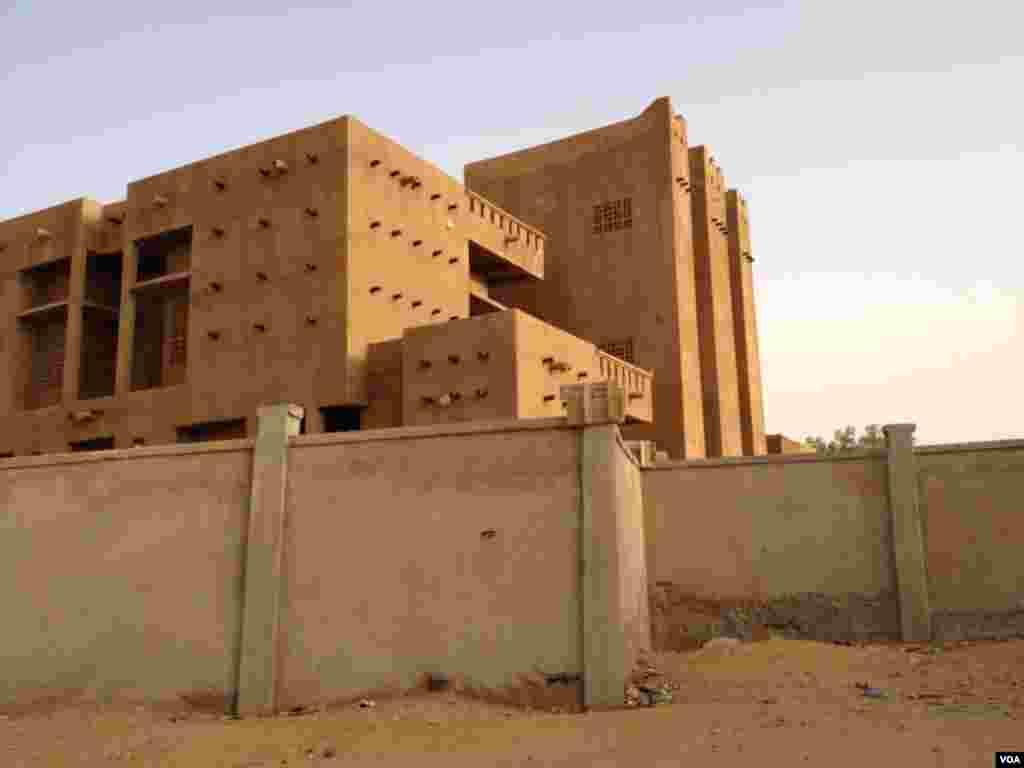 Maison d'un leader du groupe Mujao
