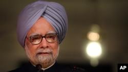 بھارتی وزیراعظم من موہن سنگھ