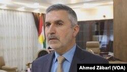Nesredîn Sindî Wezîrê Herêmên dervey Îdara Kurdî