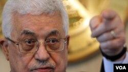 Prezidan palestinyen an Mahmoud Abbas