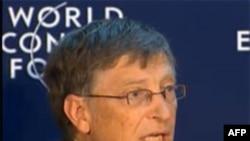Ông Bill Gates nói chuyện tại Diễn đàn Davos, Thụy Sĩ
