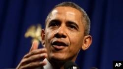 Presiden Amerika Barack Obama berjanji untuk mengambil tindakan tegas menghadapi ancaman Korea Utara (Foto:dok).