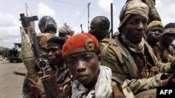 Охрана Лорана Гбагбо