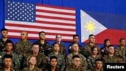 Các cuộc tập trận chung giữa hai nước Mỹ và Philippines đã diễn ra suốt nhiều thập kỷ qua.