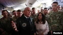 Майк Пенс во время визита в Ирак, 23 ноября 2019 года