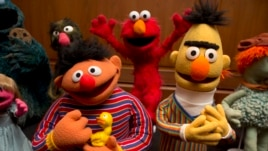 Bert and Ernie are among a donation of additional Jim Henson objects to the Smithsonian, in Washington, Sept. 24, 2013.