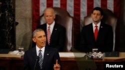 باراک اوباما می گوید آمریکا رو به رشد بیشتر است.