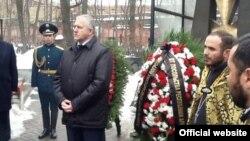 Սումգայիթյան ջարդերին զոհ դարձած հայերի հիշատակին նվիրված ծաղկեպսակների զետեղման արարողություն, Մոսկվա, 28 փետրվարի 2013թ.