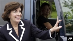 Democratic candidate for the 26th District Congressional seat, Kathy Hochul (file photo)