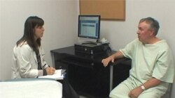 Medical Exam Provides Stage for Actors