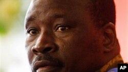 Le Premier ministre du Burkina Faso, le lieutenant-colonel Yacouba Isaac Zida.