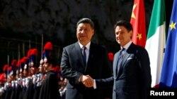 Xitoy Prezidenti Si Zinpin Italiyada