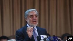 Afg'onistonda prezidentlikka nomzod Abdulla Abdulla, Kobul, 15-iyun, 2014-yil