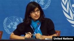 Phát ngôn viên Liên Hiệp Quốc Ravina Shamdasani.