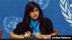 Juru bicara OHCHR, Ravina Shamdasani (foto: dok).