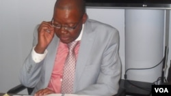 Party Secretary General Tendai Biti is said to have written the suspension letters. (Photo file: Thomas Chiripasi)