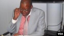 Party Secretary General Tendai Biti is said to have written the suspension letters. (Photo file: Thomas Chiripasi)