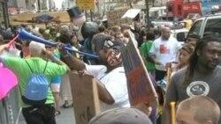 Protesta contra Slim en Nueva York