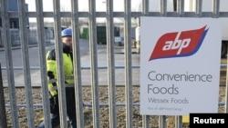 지난달 영국 북부 지역의 식품가공 공장. 본 회사는 냉동버거에 말고기를 사용하여 적발되었다.