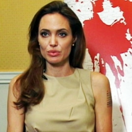 "Angelina Jolie talks about ""In The Land of Blood And Honey"""