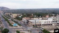 Avenida principal de Nampula