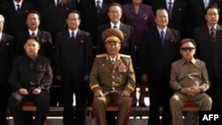 Официальная фотография высшего руководства Северной Кореи.