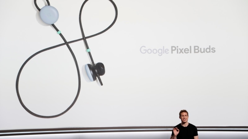 The Latest: Google's Wireless headphones Can Auto-translate | VOA