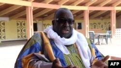 Papa Massata Diack, fils de l'ancien président de l'IAAF Lamine Diack, lors d'une interview à Dakar, Sénégal, le 6 mars 2017.