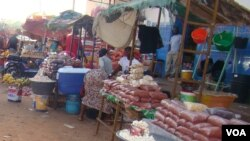 Mercado de Bandim, na capital, Bissau
